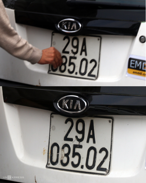 CSGT lật tẩy các chiêu che biển số của tài xế  - 2