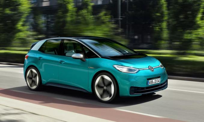 Volkswagen ID.3 - xe điện bán chạy nhất châu Âu trong tháng 10. Ảnh: Volkswagen