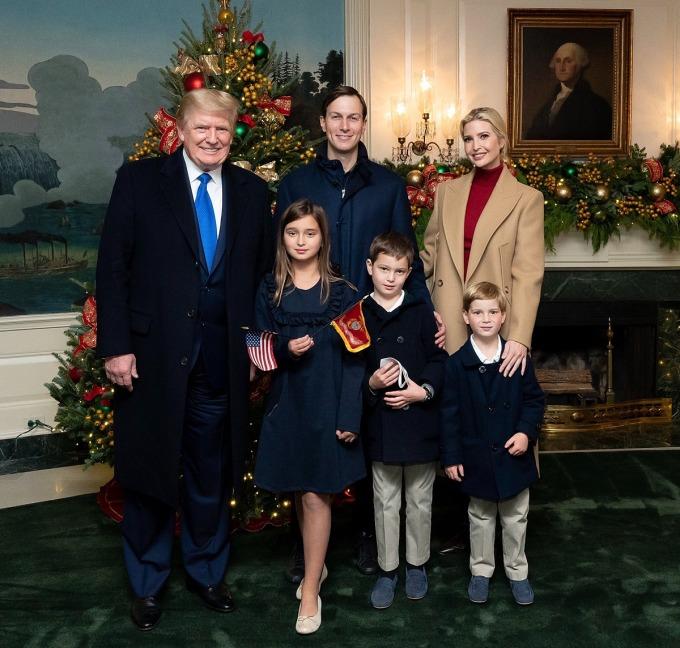 Gia đình Ivanka trong Nhà Trắng. Ảnh: Twitter/Ivanka Trump