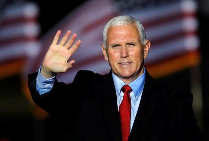 Phó tổng thống Mike Pence tại Bắc Carolina hồi tháng 10. Ảnh: Reuters.