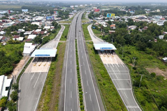 Cao tốc Nha Trang - Cam Lâm sẽ kết nối với các đoạn Cam Lâm - Vĩnh Hảo, Vĩnh Hảo - Phan Thiết, Phan Thiết - Dầu Giây đến cao tốc Long Thành hiện nay. Ảnh:Phước Tuấn