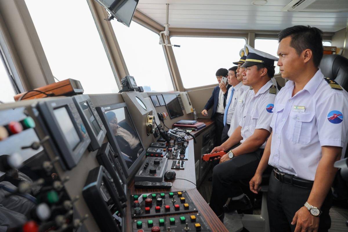Phà biển Cần Giờ - Vũng Tàu ngày đầu hoạt động