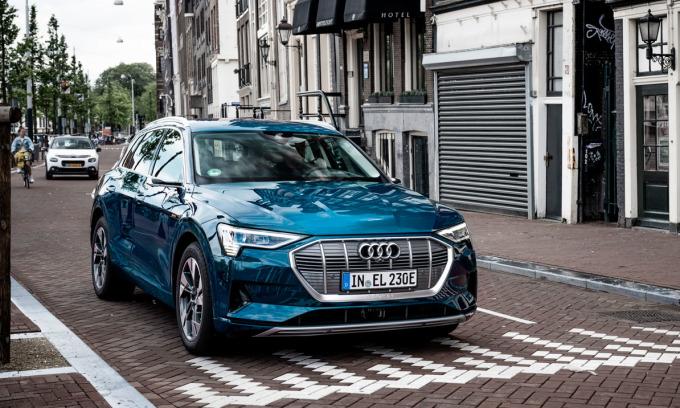 Audi e-tron - xe điện bán chạy tại Na Uy. Ảnh: Audi