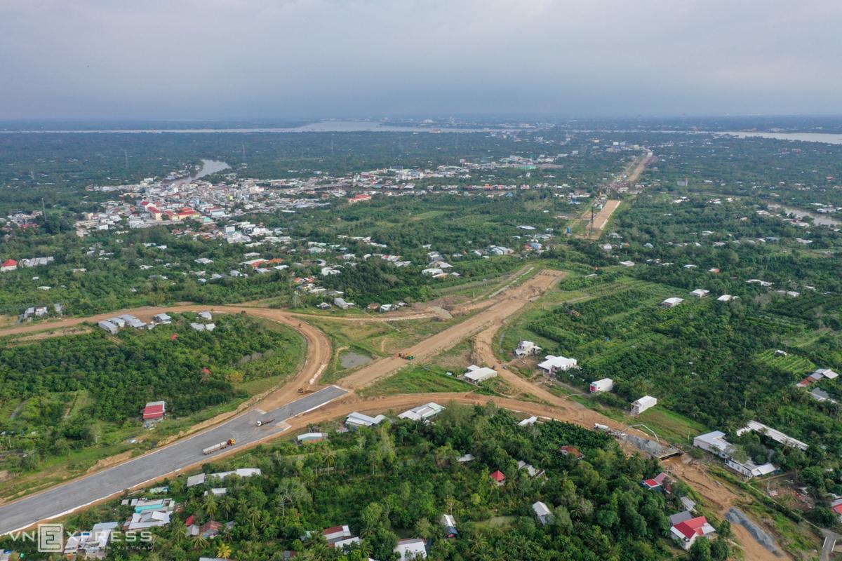 Cao tốc Trung Lương - Mỹ Thuận sau khi thông tuyến