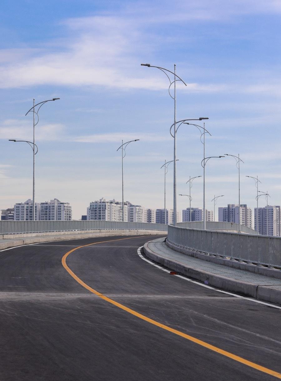 Cầu hơn 400 tỷ đồng trước ngày thông xe