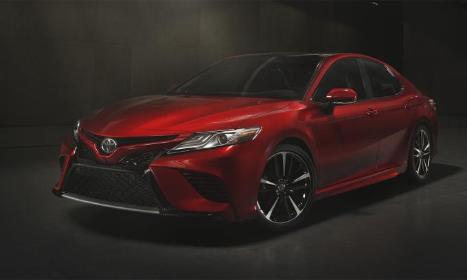 Camry, mẫu xe du lịch bán chạy nhất 2020. Ảnh: Toyota