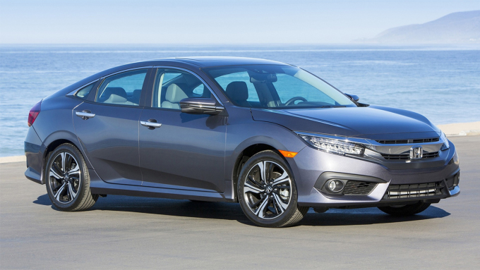 Doanh số của Civic trong năm 2020 giảm 22,2% so với 2019. Ảnh: Honda