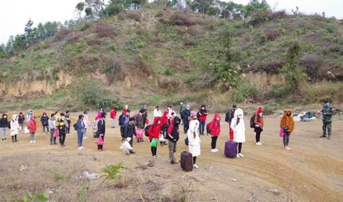 37 người nhập cảnh trái phép bị tạm giữ