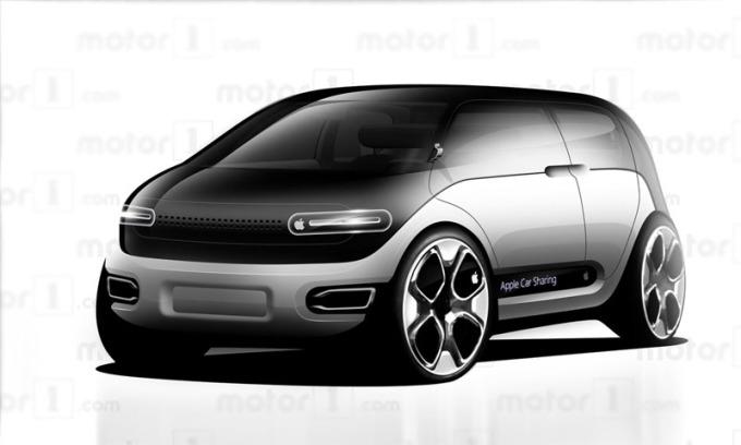 Ôtô Apple theo hình dung của Motor1.