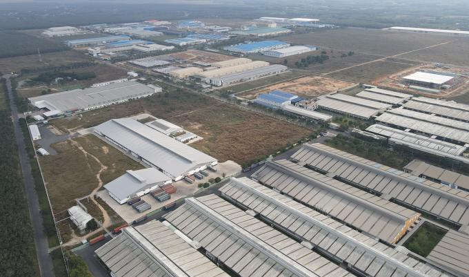 Khu công nghiệp Lộc An - Bình Sơn đầu năm thu hút đầu tư 60 triệu USD. Ảnh: Phước Tuấn