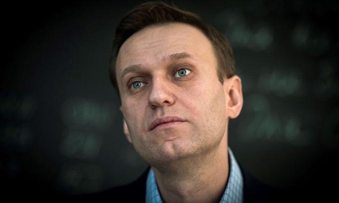 Lãnh đạo đối lập Alexei Navalny trong một cuộc phỏng vấn tại Moskva năm 2018. Ảnh: AFP.