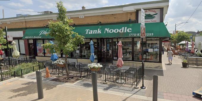 Nhà hàng Tank Noodle tại Chicago. Ảnh: Today.