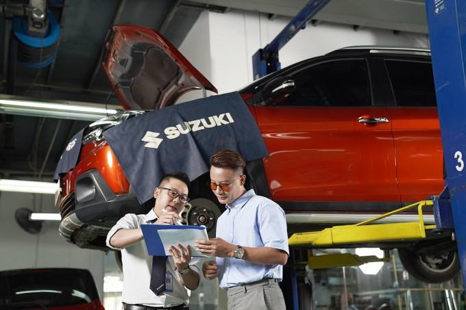 Suzuki chú trọng cải thiện dịch vụ hậu mãi, mang đến nhiều lợi ích cho khách hàng. Ảnh: Suzuki.