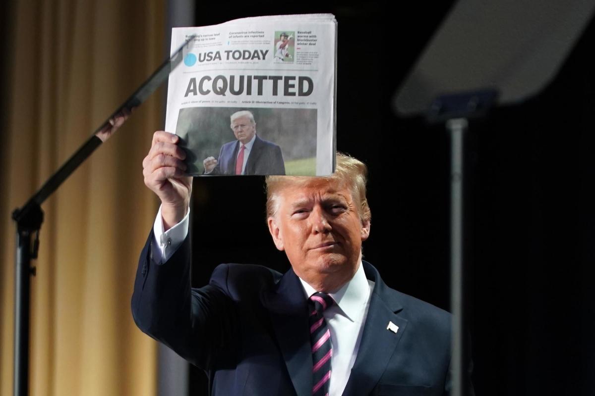 Những hình ảnh định hình nhiệm kỳ của Trump