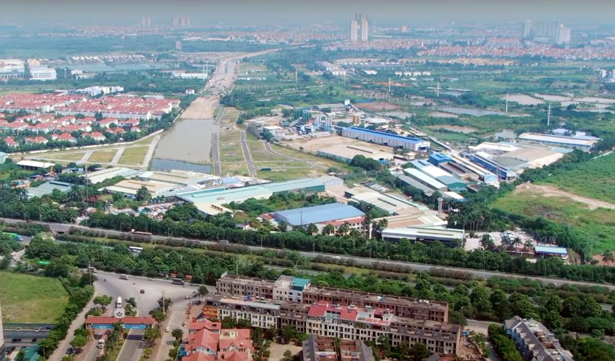 Đường vành đai 1.400 tỷ đồng ở ngoại thành thủ đô