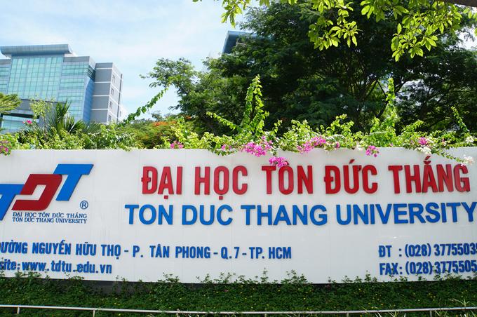 Cơ sở chính Đại học Tôn Đức Thắng tại TP HCM. Ảnh: Mạnh Tùng
