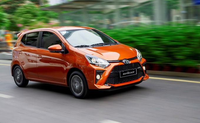 Toyota Wigo phiên bản mới nhất. Ảnh: TMV.