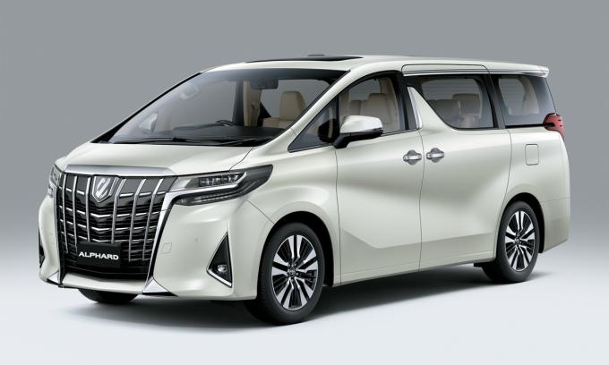 Alphard 2021. Ảnh: Toyota