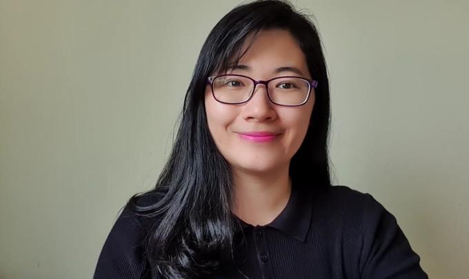Cô giáo tiếng Anh Moon Nguyen.