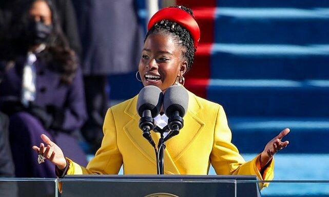 Nữ sinh 22 tuổi đọc thơ trong lễ nhậm chức tổng thống