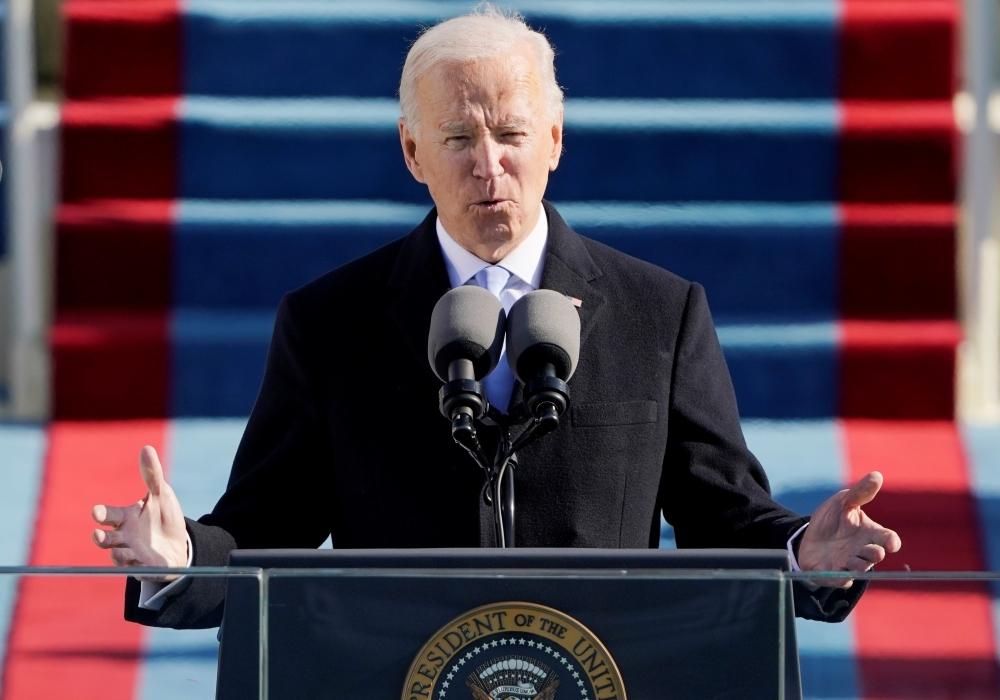 Lễ nhậm chức khác thường của Joe Biden