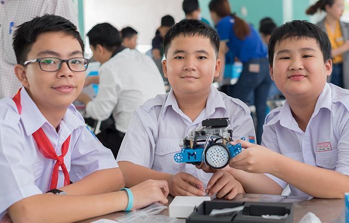 KDI Education đưa giáo dục STEM đến với học sinh Việt