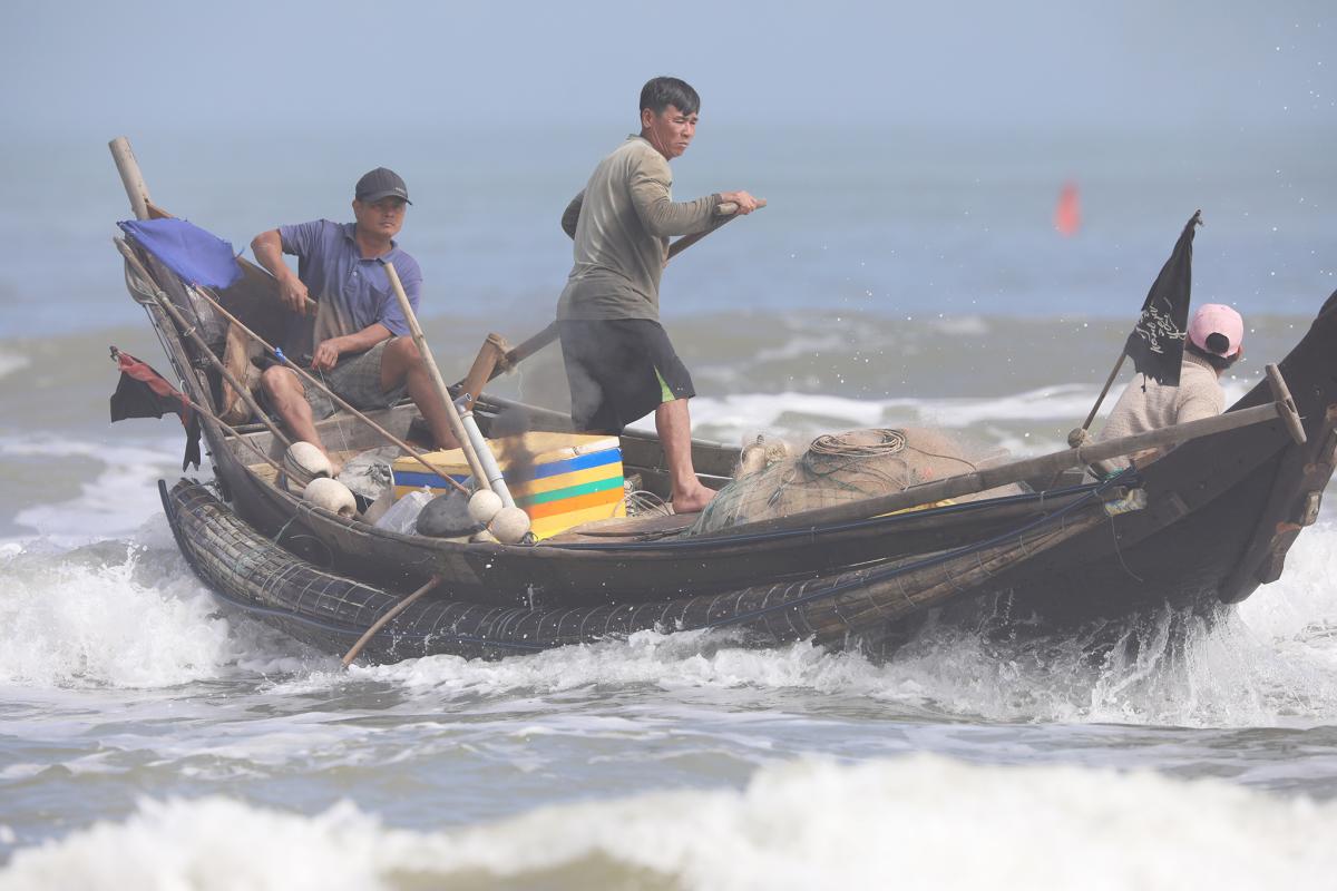 Mùa đánh bắt cá biển gần bờ