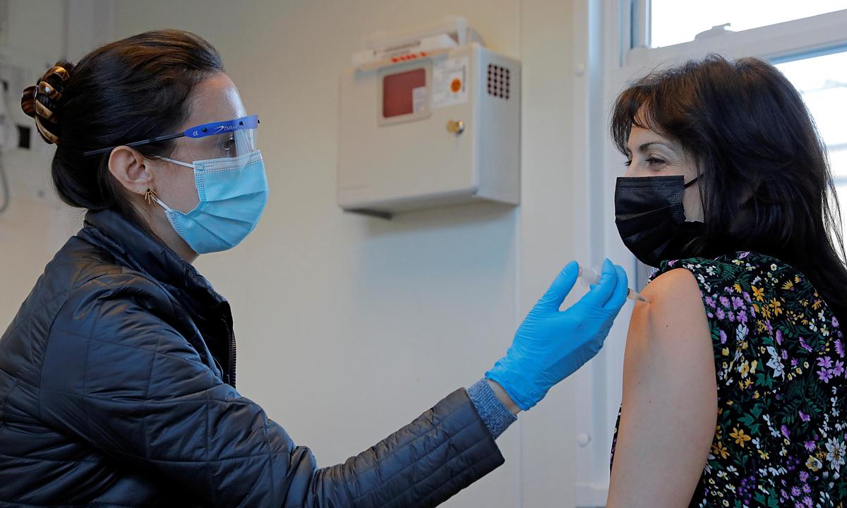 Bang New York sắp hết vaccine Covid-19