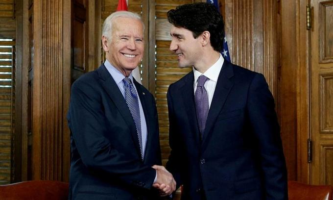 Biden điện đàm với lãnh đạo Canada, Mexico