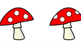 Đáp án bài toán lớp 1 về cây nấm và chú lùn