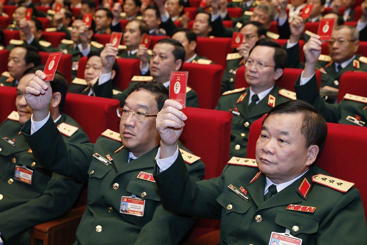 Lãnh đạo Đảng, Nhà nước và các đại biểu dự phiên trù bị Đại hội XIII