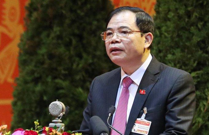 Bộ trưởng Nông nghiệp và Phát triển Nông thôn Nguyễn Xuân Cường. Ảnh: Giang Huy