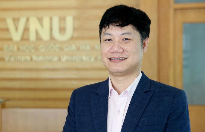 PGS Nguyễn Tiến Thảo, Giám đốc Trung tâm Khảo thí Đại học Quốc gia Hà Nội. Ảnh: VNU