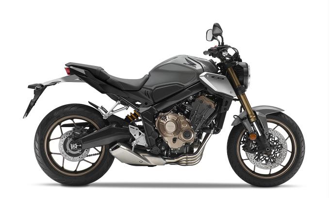 CB650R phiên bản màu mới xám-đen-bạc. Ảnh: Honda