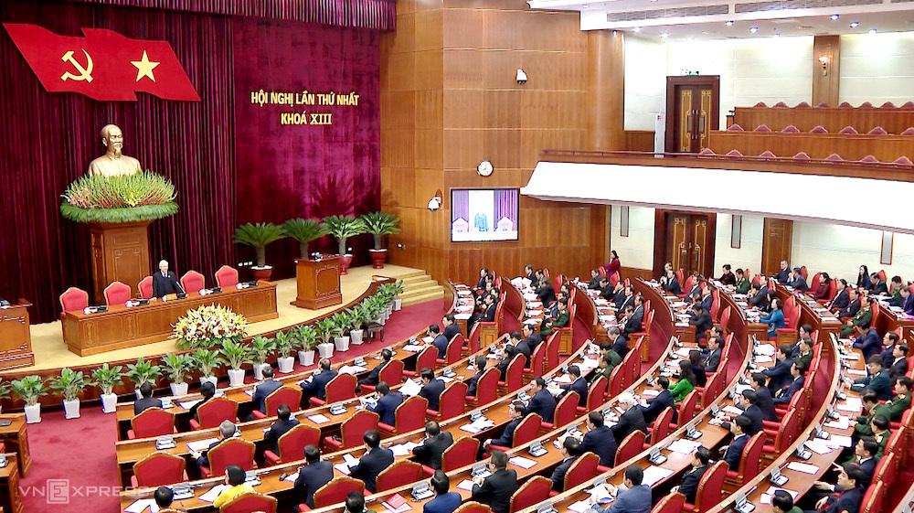 Trung ương khóa XIII họp Hội nghị lần thứ nhất