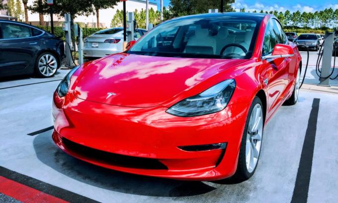Model 3 - mẫu xe làm người Mỹ hài lòng nhất cũng theo khảo sát của Consumer Reports năm 2020. Ảnh: CleanTechnica