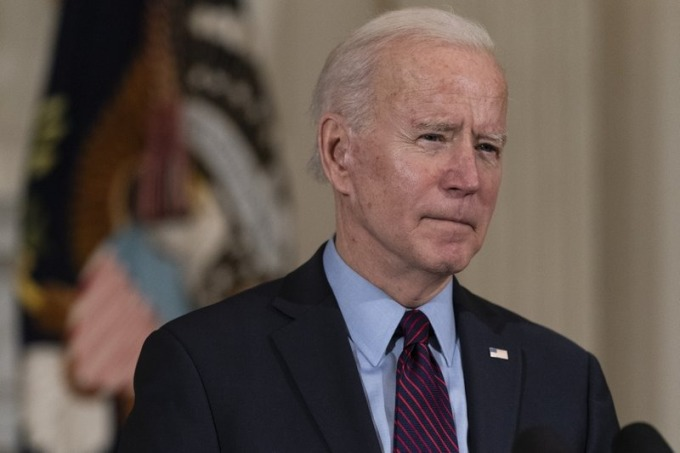 Tổng thống Mỹ Joe Biden nói về kinh tế tại Nhà Trắng hôm 5/2. Ảnh: AP