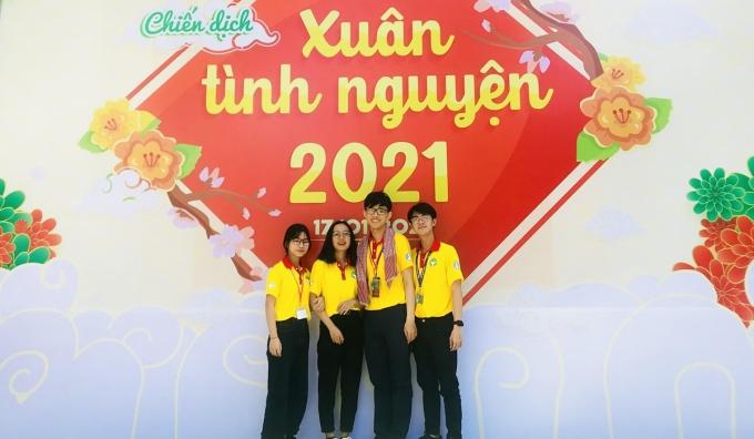 Lập Phúc tham gia Chiến dịch Xuân tình nguyện 2021 với tư cách Đội phó của đội hình Xuân Cống Hiến. Ảnh: Nhân vật cung cấp