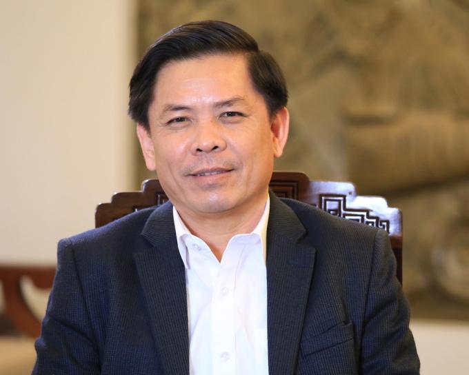 Bộ trưởng Nguyễn Văn Thể. Ảnh: Anh Duy.
