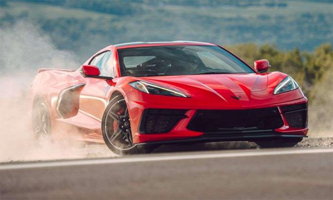 C8 Corvette - ô tô mới bán nhanh kỷ lục ở Mỹ. Ảnh: Chevrolet