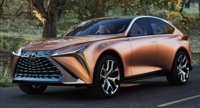 Mẫu concept xe điện của Lexus. Ảnh: Lexus