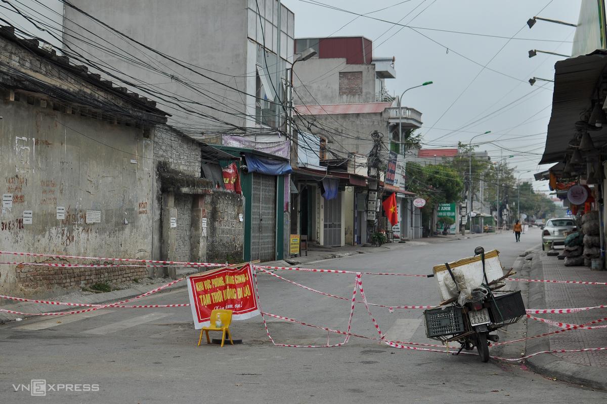 TP Chí Linh ngày đầu nối tiếp cách ly xã hội