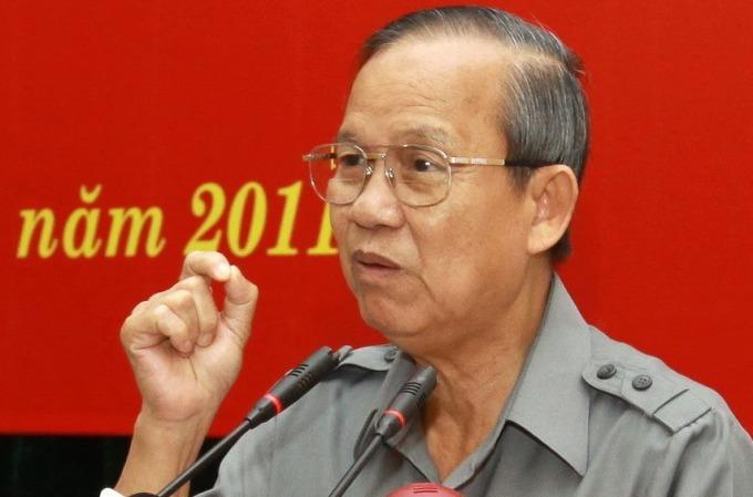 Nguyên Phó thủ tướng Trương Vĩnh Trọng. Ảnh: CTV