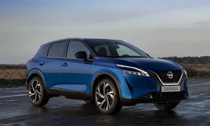 Qashqai thế hệ mới ra mắt thị trường châu Âu. Ảnh: Nissan