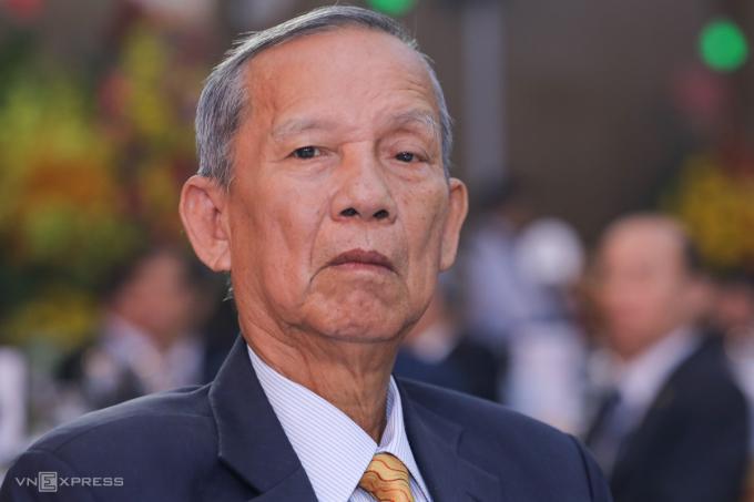 Nguyên Phó thủ tướng Trương Vĩnh Trọng. Ảnh: Quỳnh Trần
