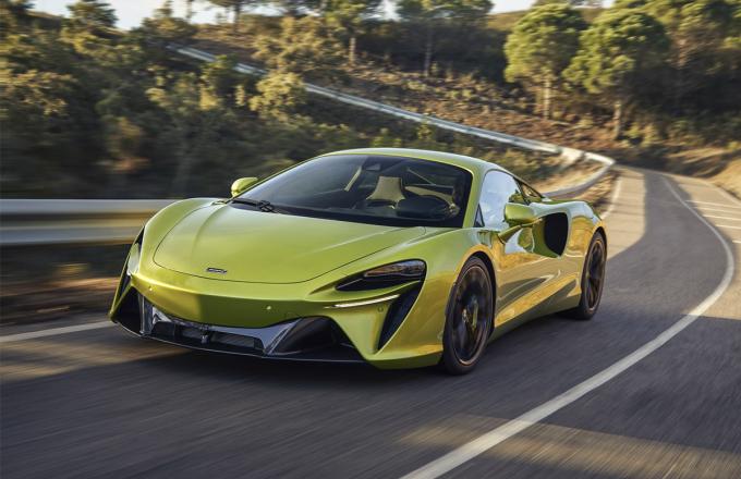 McLaren Artuta.