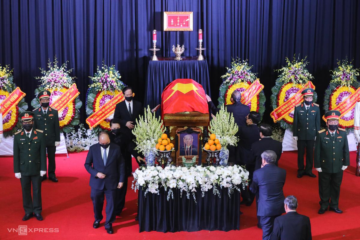 Lễ an táng nguyên Phó thủ tướng Trương Vĩnh Trọng