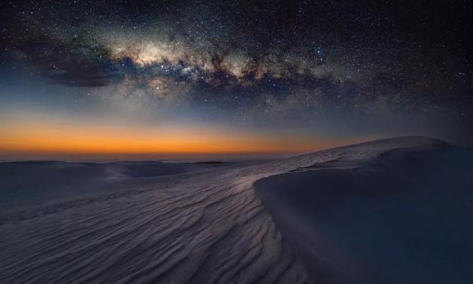 Lý do sa mạc khô cằn rất lạnh vào ban đêm