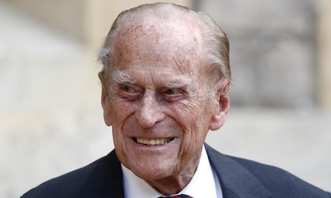 Hoàng thân Philip tại một sự kiện ở lâu đài Windsor hồi tháng 7/2020. Ảnh: AFP.