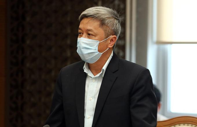 Thứ trưởng Y tế Nguyễn Trường Sơn. Ảnh: VGP